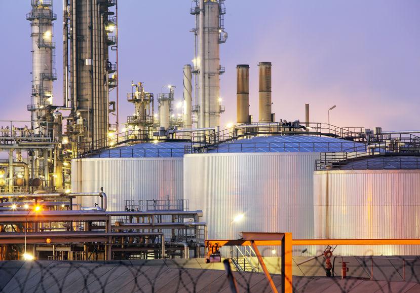 Shot Peening Oil tank